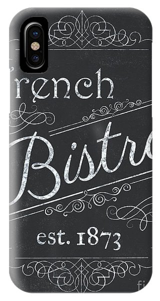 Decor iPhone Case - Le Petite Bistro 4 by Debbie DeWitt