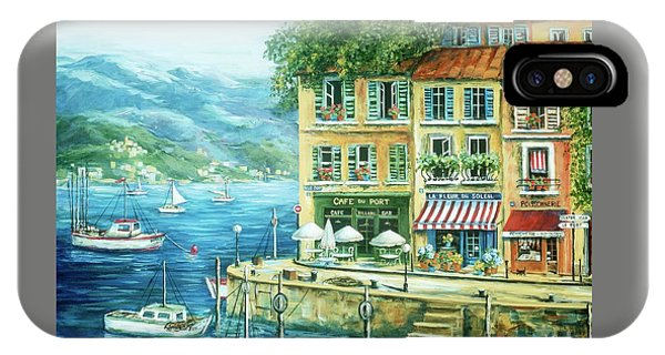 Fishing Boat iPhone Case - Le Port by Marilyn Dunlap