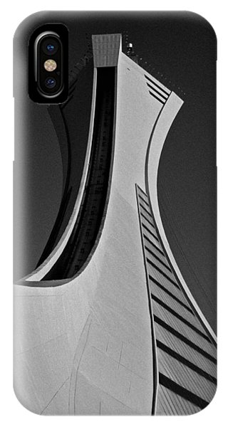 Le Stade Olympique De Montreal IPhone Case