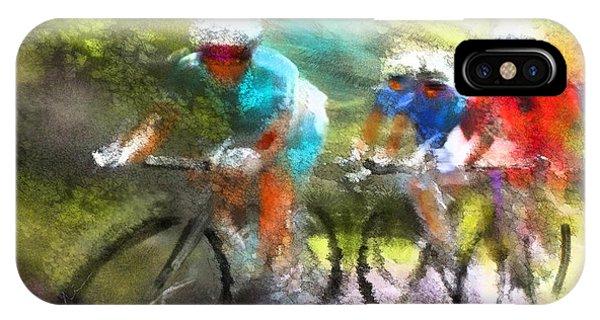 Le Tour De France 11 IPhone Case
