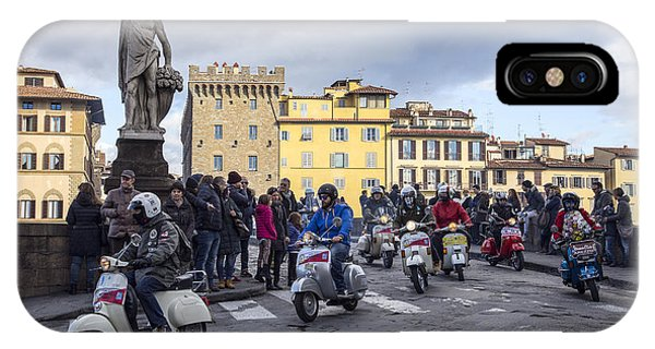 Vespe Di Firenze IPhone Case