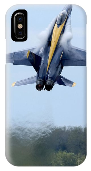 Lead Solo Pilot Of The Blue Angels IPhone Case