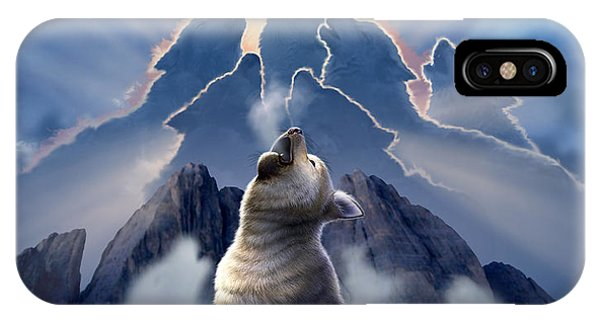 Dusk iPhone Case - Leader Of The Pack by Jerry LoFaro