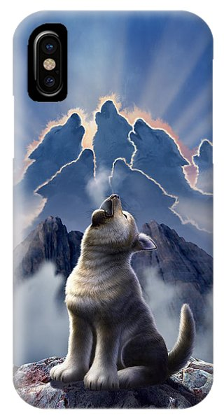 Wolf iPhone Case - Leader Of The Pack by Jerry LoFaro