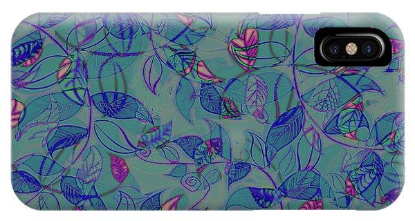 Leaf Mesh IPhone Case
