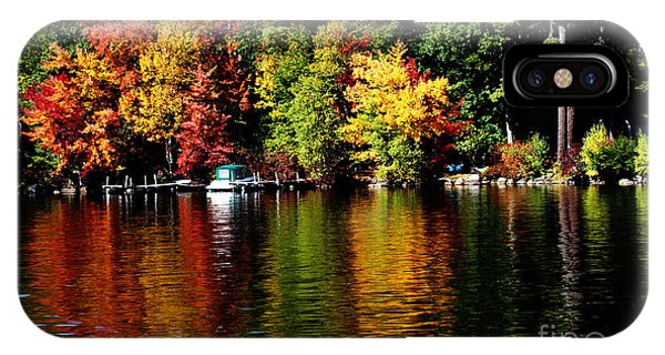 Leaf Peeping IPhone Case