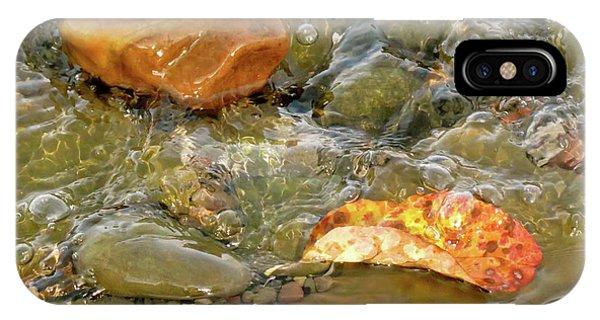Leaf, Rock Leaf IPhone Case