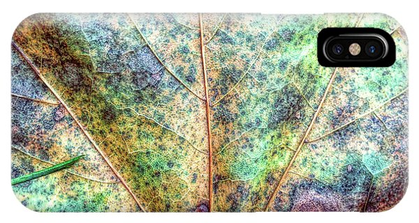 Leaf Terrain IPhone Case