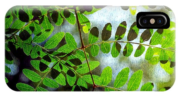Leafy Textures IPhone Case
