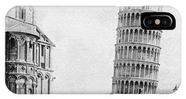 Leaning Tower Of Pisa Italy - C 1902  IPhone Case