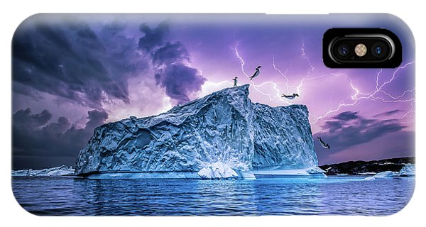 Leap Of Faith Phone Case by Brent Shavnore