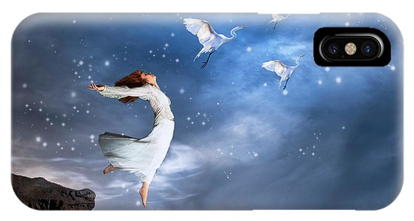 Leap Of Faith IPhone Case