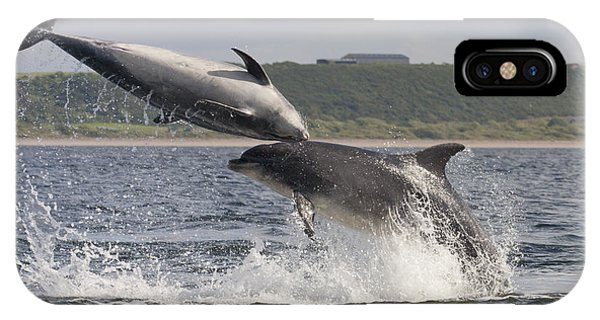Leaping Bottlenose Dolphins - Scotland  #38 IPhone Case