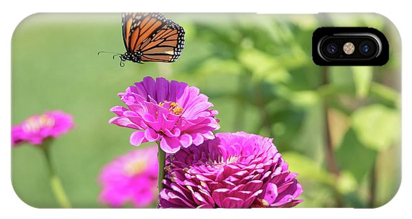 IPhone Case featuring the photograph Leaping Butterfly by Brian Hale
