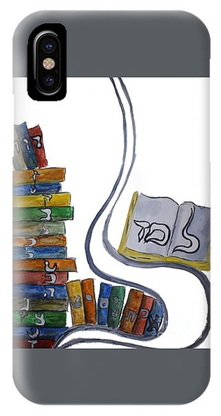 Learning Lamed IPhone Case