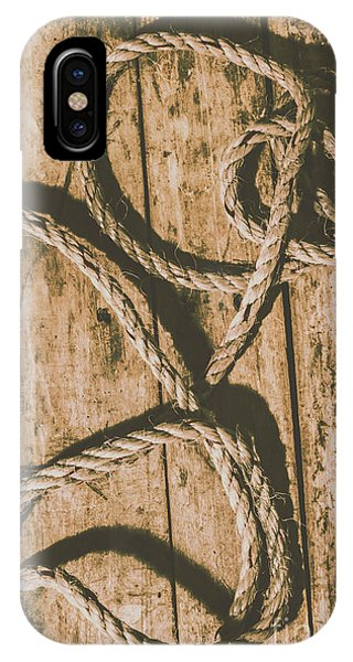 Nobody iPhone Case - Learning The Ropes by Jorgo Photography - Wall Art Gallery