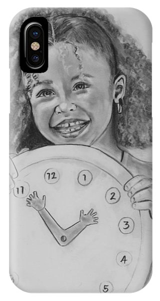 Learning To Tell Time IPhone Case
