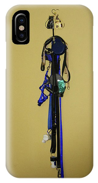 Leash Lady Just Hanging On The Wall IPhone Case