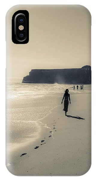 Leave Nothing But Footprints IPhone Case