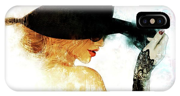 iPhone Case - Leave Your Hat On by Shanina Conway