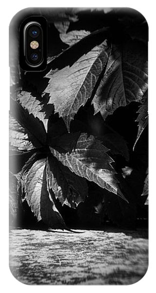 Leaves #9671 IPhone Case