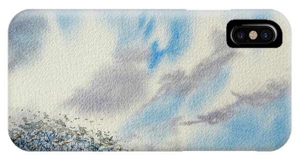 The Blue Hills Of Summer IPhone Case