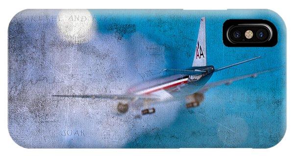 Leavin' On A Jet Plane Phone Case by Rebecca Cozart