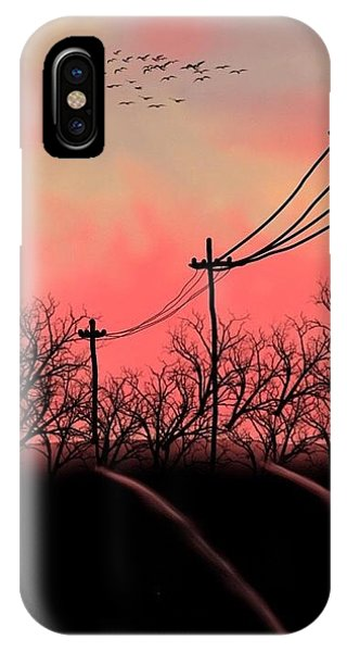 Leaving Home IPhone Case