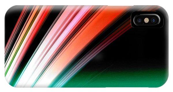 Leaving Saturn In Fire Opal IPhone Case