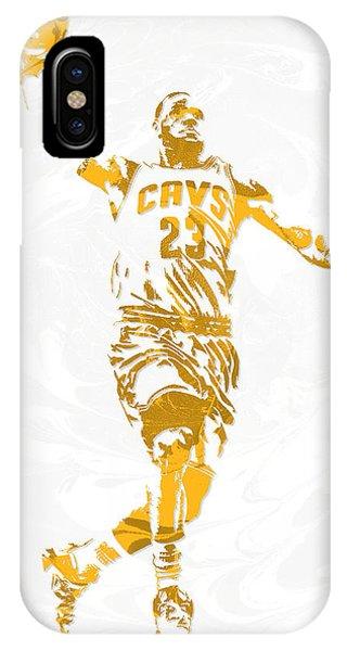 Lebron James Cleveland Cavaliers Pixel Art 12 IPhone Case