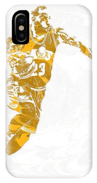 Lebron James Cleveland Cavaliers Pixel Art 14 IPhone Case