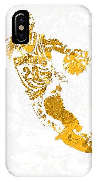 Lebron James Cleveland Cavaliers Pixel Art 15 IPhone Case