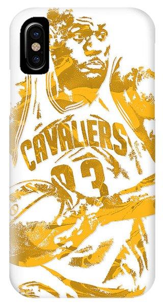 Lebron James Cleveland Cavaliers Pixel Art 6 IPhone Case