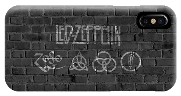 Led Zeppelin Brick Wall IPhone Case