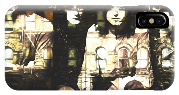 Rock And Roll Jimmy Page iPhone Case - Led Zeppelin Physical Graffiti by Dan Sproul