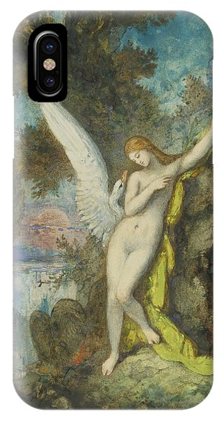 Leda And The Swan IPhone Case