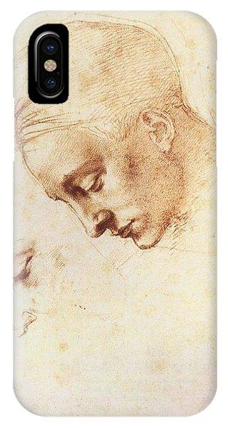 Leda's Head, Study IPhone Case