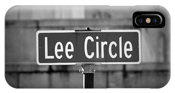 Lee Circle IPhone Case