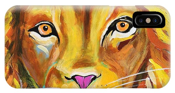 Lee The Lion IPhone Case