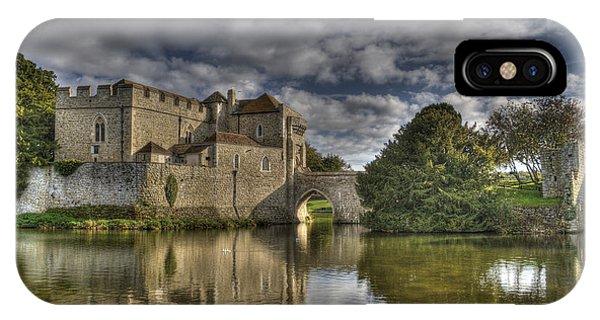 Leeds Castle Reflections IPhone Case