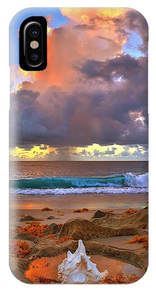 Left Behind - From Singer Island Florida. IPhone Case