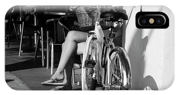 Leg Power - B And W IPhone Case