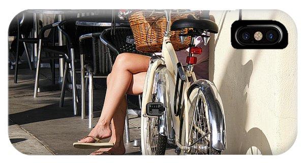 Leg Power - On Montana Avenue IPhone Case
