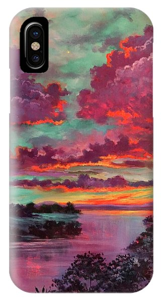 Legend Of A Sunset IPhone Case