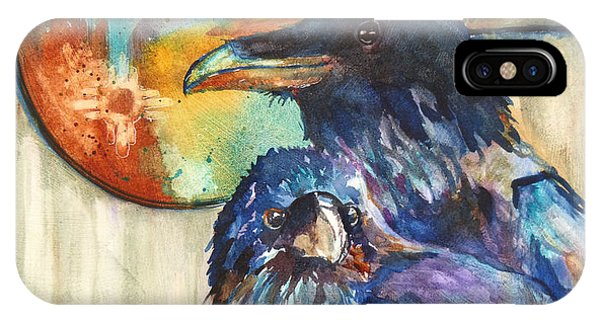 Legend Of The Raven IPhone Case