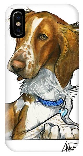 Caricature iPhone Case - Leger 3018 by John LaFree