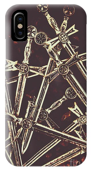 Middle iPhone Case - Legion Of Arms by Jorgo Photography - Wall Art Gallery