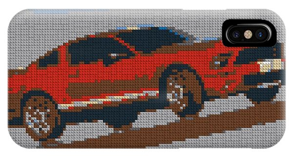 Lego Mustang IPhone Case
