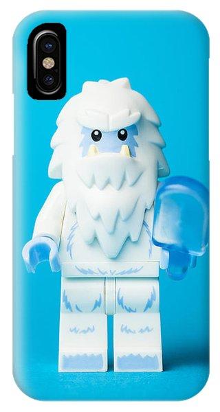 Myth iPhone Case - Lego Yeti by Samuel Whitton