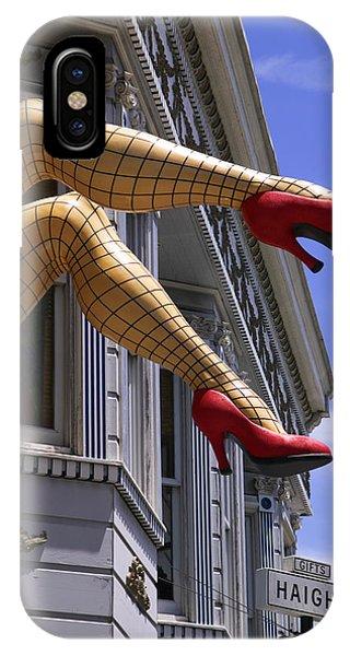 California iPhone Case - Legs Haight Ashbury by Garry Gay